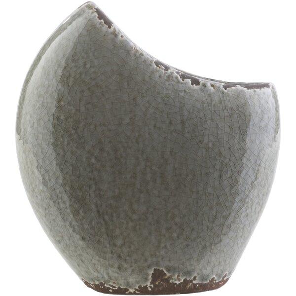 Coastal Novelty Ceramic Table Vase by Highland Dunes
