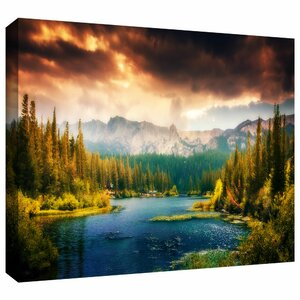 Mountain View' Photographic Print on Wrapped Canvas by Loon Peak