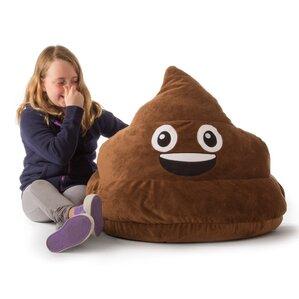 GoMoji Emoji Poo Bean Bag Chair by Ace Casual Furniture?