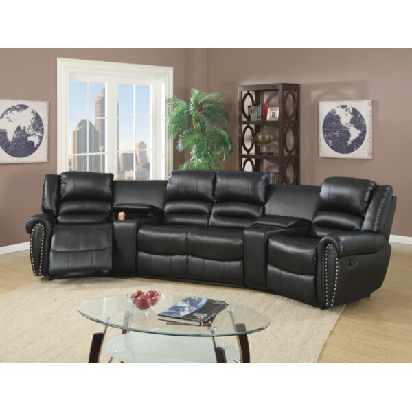 Breese 5 Piece Reclining Sectional by Red Barrel Studio