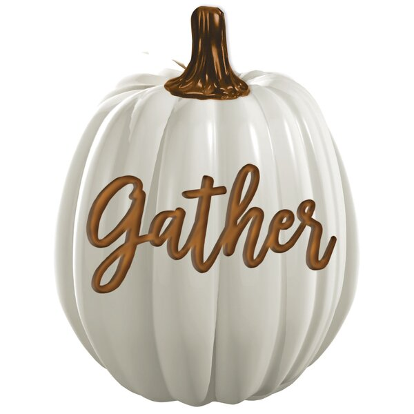 Autumn Gather Pumpkin Decorative Accent by Amscan