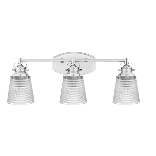 Waldman 3-Light Vanity Light by Breakwater Bay