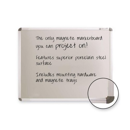 Magnetic Wall Mounted Interactive Whiteboard by Balt