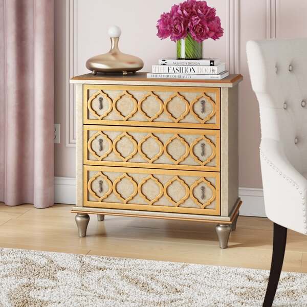 Chantel 3 Drawer Accent chest by Willa Arlo Interiors Willa Arlo Interiors
