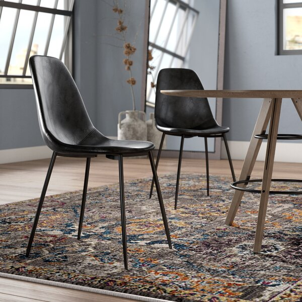 #1 Connor Upholstered Dining Chair (Set Of 2) By Modern Rustic Interiors Spacial Price