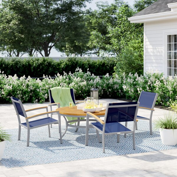 Caspian 5 Piece Seating Group Set by Sol 72 Outdoor