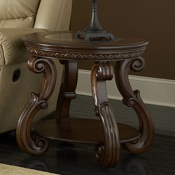 5556 Series End Table by Woodhaven Hill