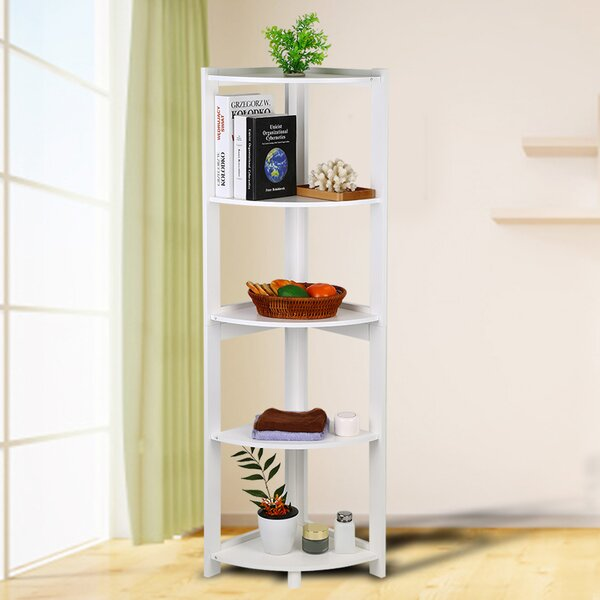 Alvester Corner Bookcase By Latitude Run