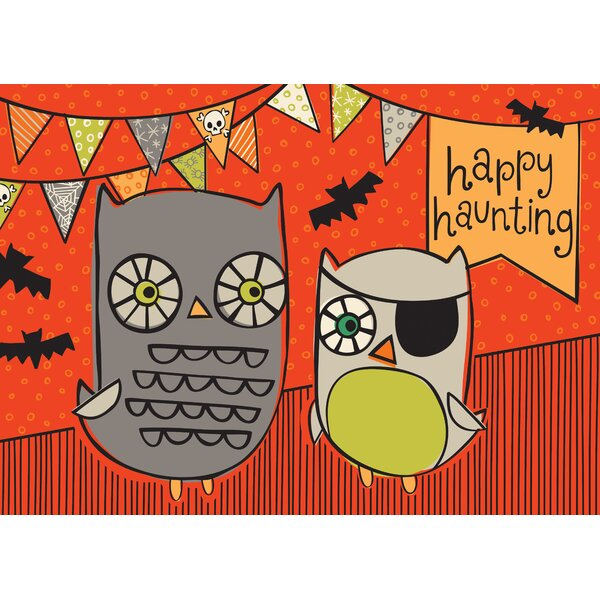 Happy Haunting Kitchen Mat by Bungalow Flooring