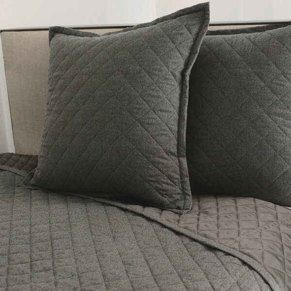 Flannel Coverlet Set