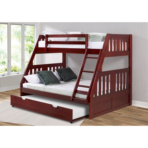 Dubbo Twin over Full Bed with Trundle by Harriet Bee