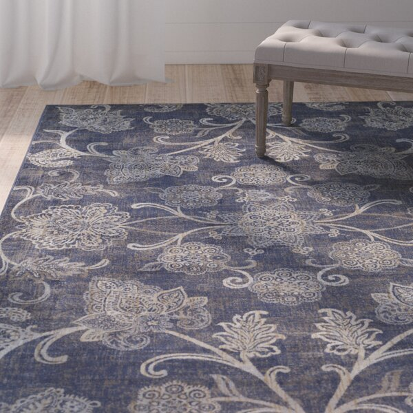 Blue Hill Navy Area Rug by One Allium Way