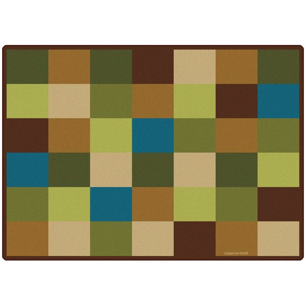 Blocks Seating Kids Rug by Carpets for Kids