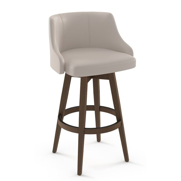Laurene Bar & Counter Swivel Stool by Brayden Studio