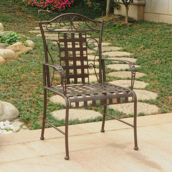 Abbottsmoor Patio Dining Chair (Set of 2) by Darby Home Co Darby Home Co