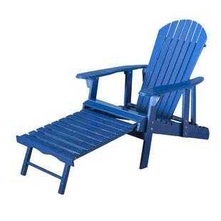 Navy Blue Adirondack Chair   Wayfair