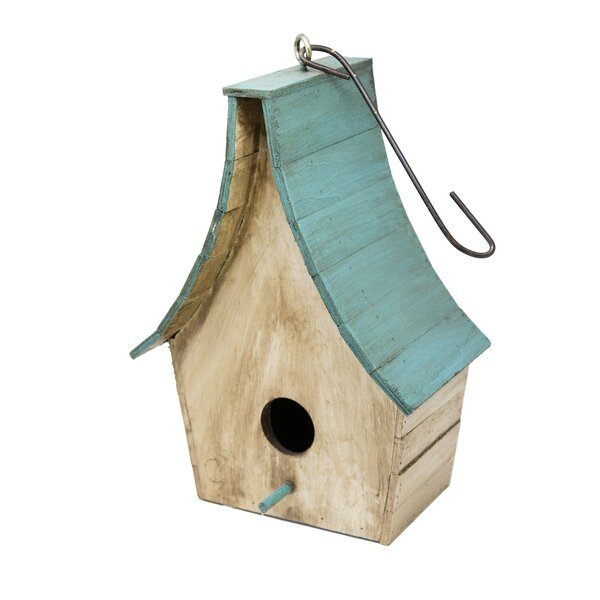 Wooden Tempale 25 in x 11 in x 7 in Birdhouse by Rustic Arrow