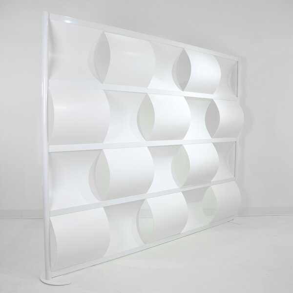 Wave 5 Panels Room Divider, 78 H x 96 W by LOFTwall