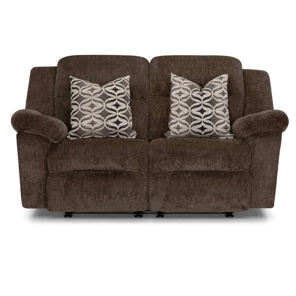 New Chic Heard Reclining Loveseat by Red Barrel Studio by Red Barrel Studio
