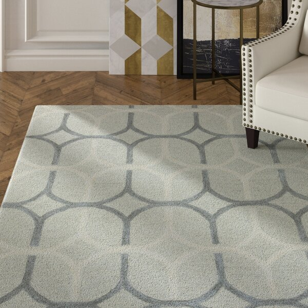 Judy Hand-Tufted Gray Area Rug by Mercer41