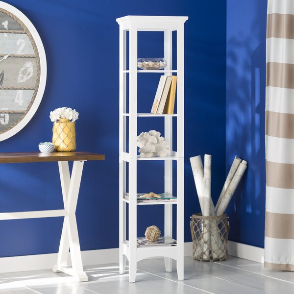 Sumter 13 W x 63 H Bathroom Shelf by Beachcrest Ho