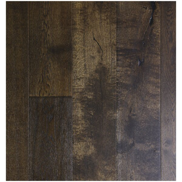 7-1/2 Engineered White Oak Hardwood Flooring in Braised Copper by Easoon USA