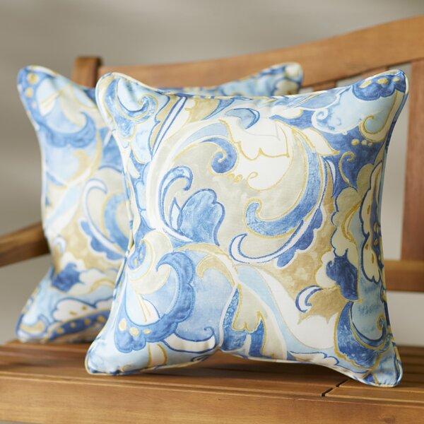 Betty Indoor/Outdoor Throw Pillow (Set of 2) by Latitude Run