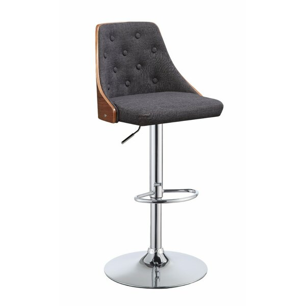 Camden Astonishing Adjustable Height Swivel Bar Stool by George Oliver