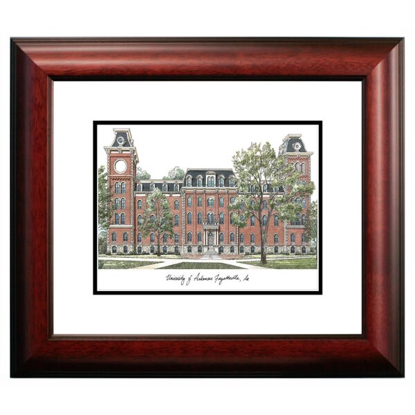 Alumnus Framed Lithograph Framed Photographic Print by Campus Images