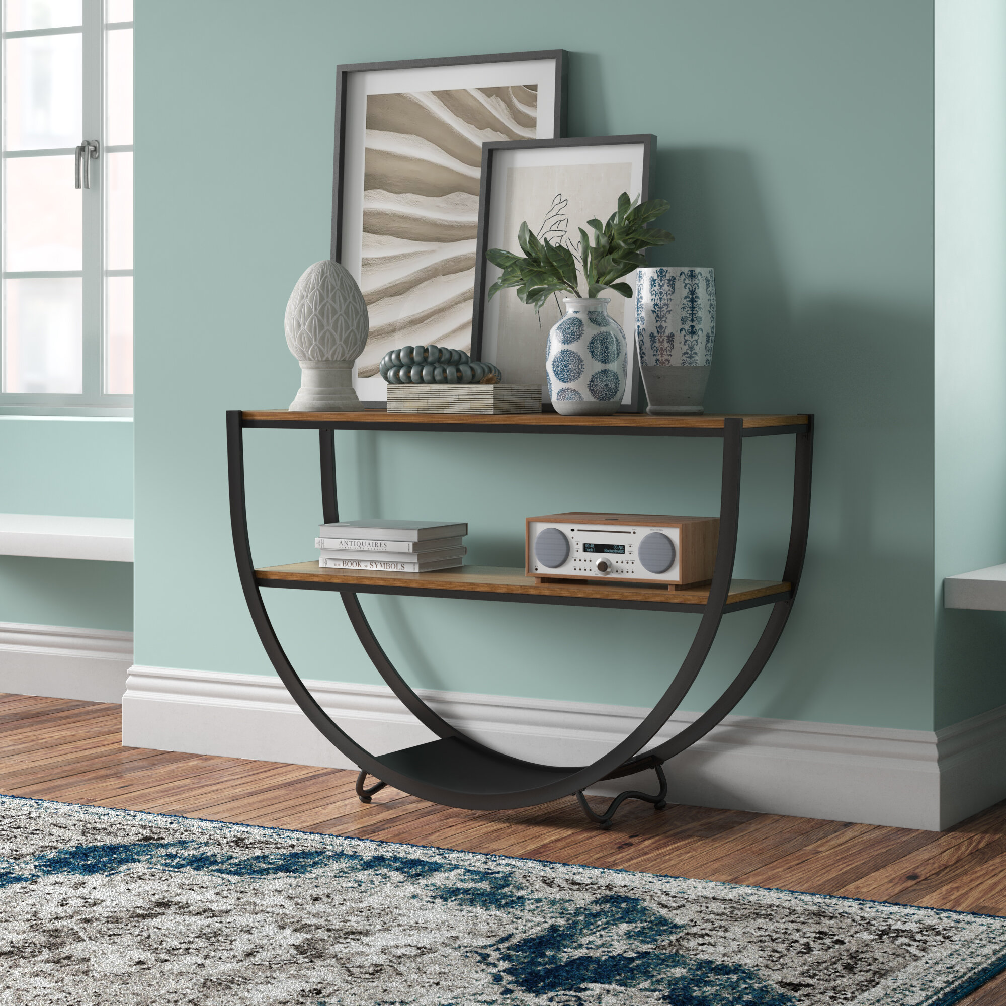 Industrial Console Tables You Ll Love In 2020 Wayfair