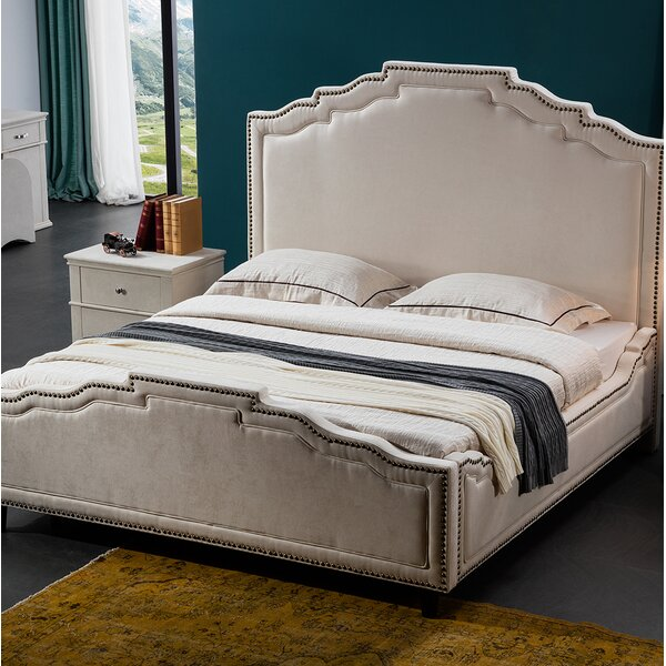 Terrell Upholstered Platform Bed by Rosdorf Park