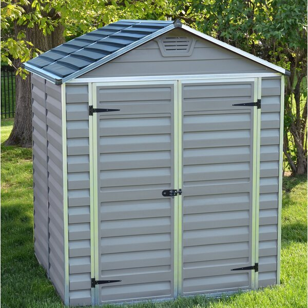 SkyLight™ 6 Ft. W x 5 Ft. D Polycarbonate Storage Shed by Palram