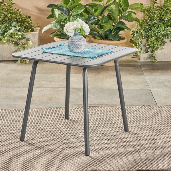 Harrigan Metal Dining Table by Ebern Designs