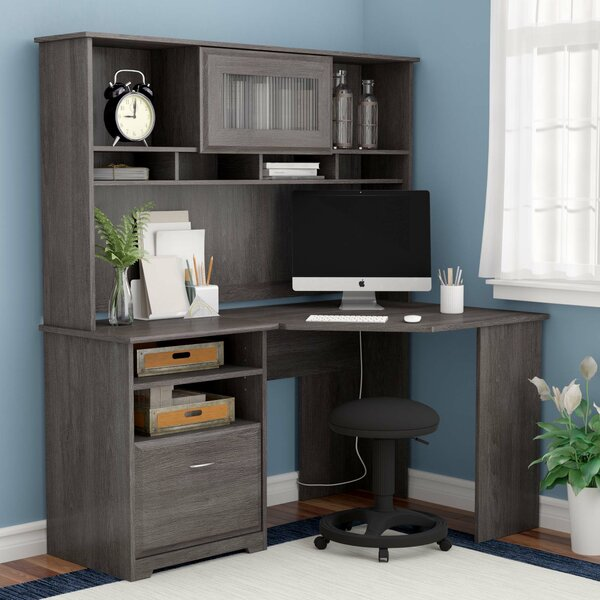Hillsdale Computer Desk with Hutch by Red Barrel Studio