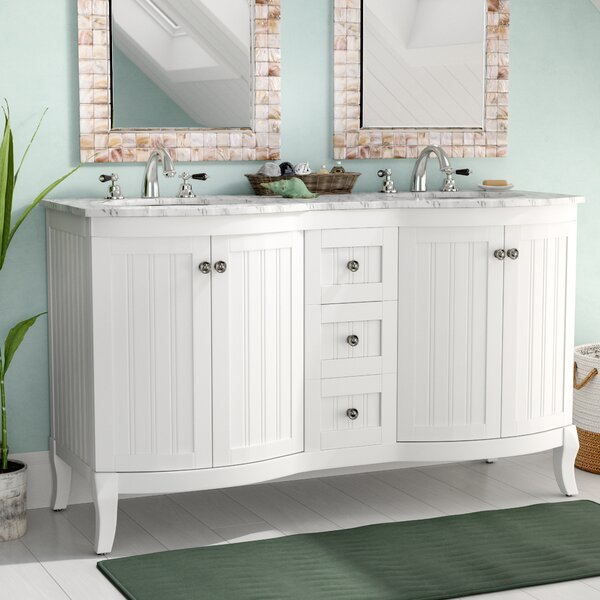 Saint 60 Double Vanity Set by Beachcrest Home