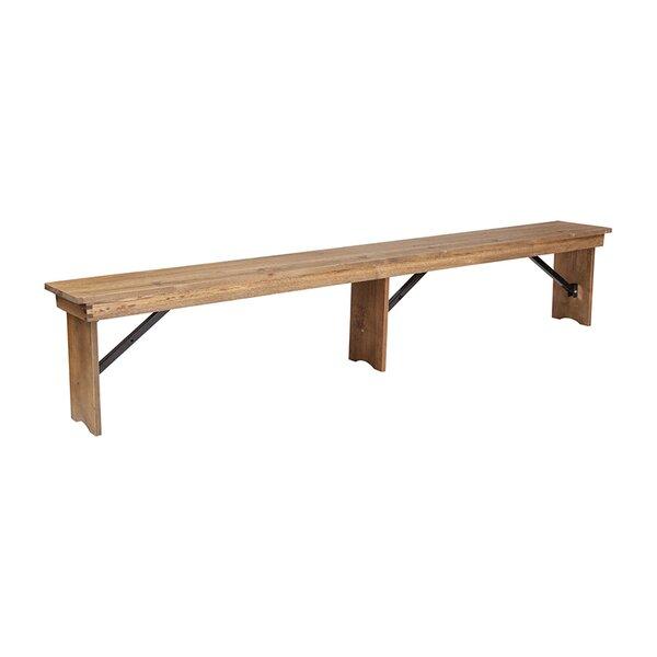 Dao Folding Bench by Gracie Oaks