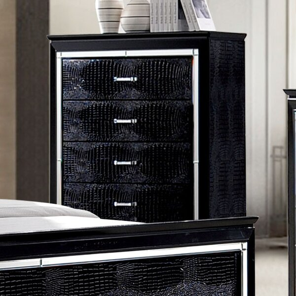 Crispin 5 Drawer Chest by Willa Arlo Interiors