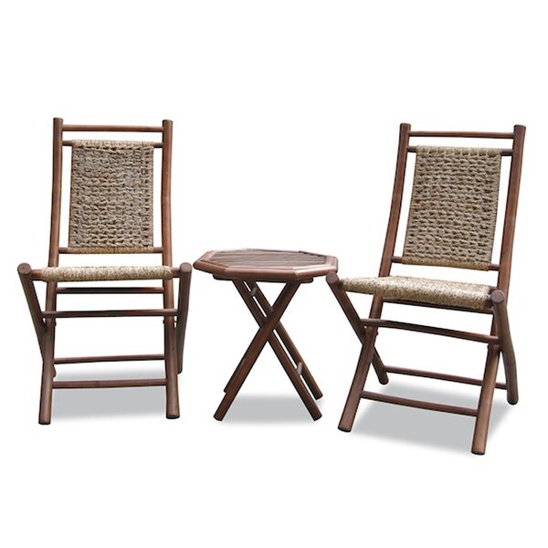 Alley 3 Piece Conversation Set by Bay Isle Home