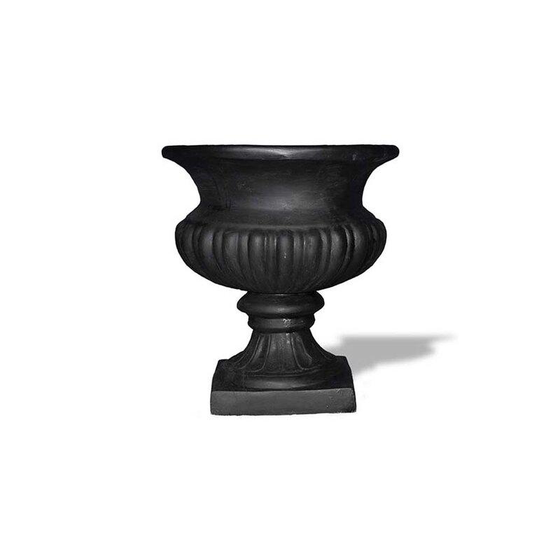 Bell Resin Stone Urn Planter
