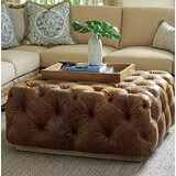 Los Altos 41.5 Tufted Square Cocktail Ottoman by Tommy Bahama Home