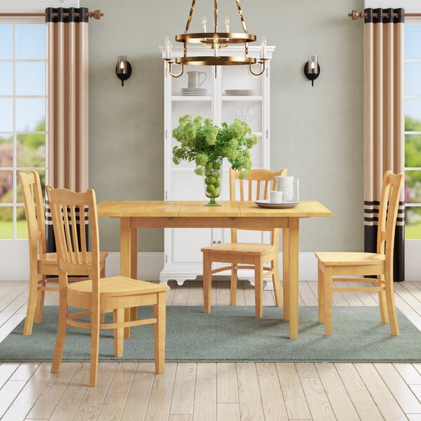 Balfor 5 Piece Dining Set by Andover Mills