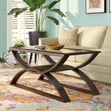 Kanice Abstract Coffee Table by World Menagerie