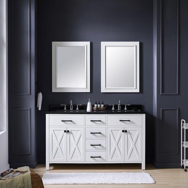 Xena 60 Double Bathroom Vanity Set by Ove Decors