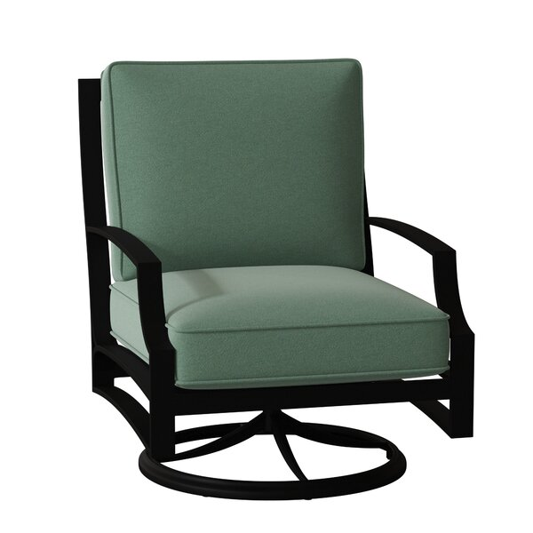 Seal Cove Swivel Patio Chair with Cushions by Woodard Woodard