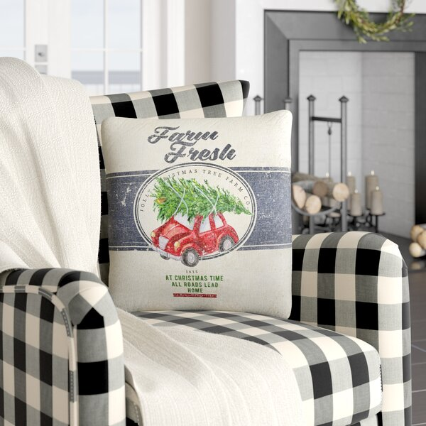 Darren Farm Fresh Outdoor Throw Pillow by Gracie Oaks