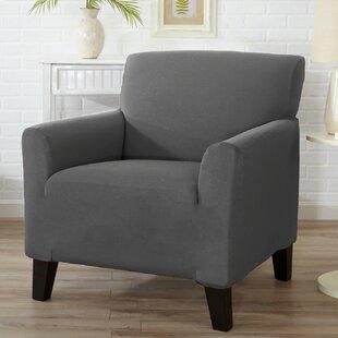 Beau Barrel Swivel Chair Slipcover   Wayfair