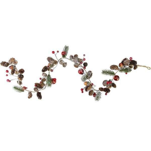 Holiday Moments Pine Cones Christmas Garland by The Holiday Aisle