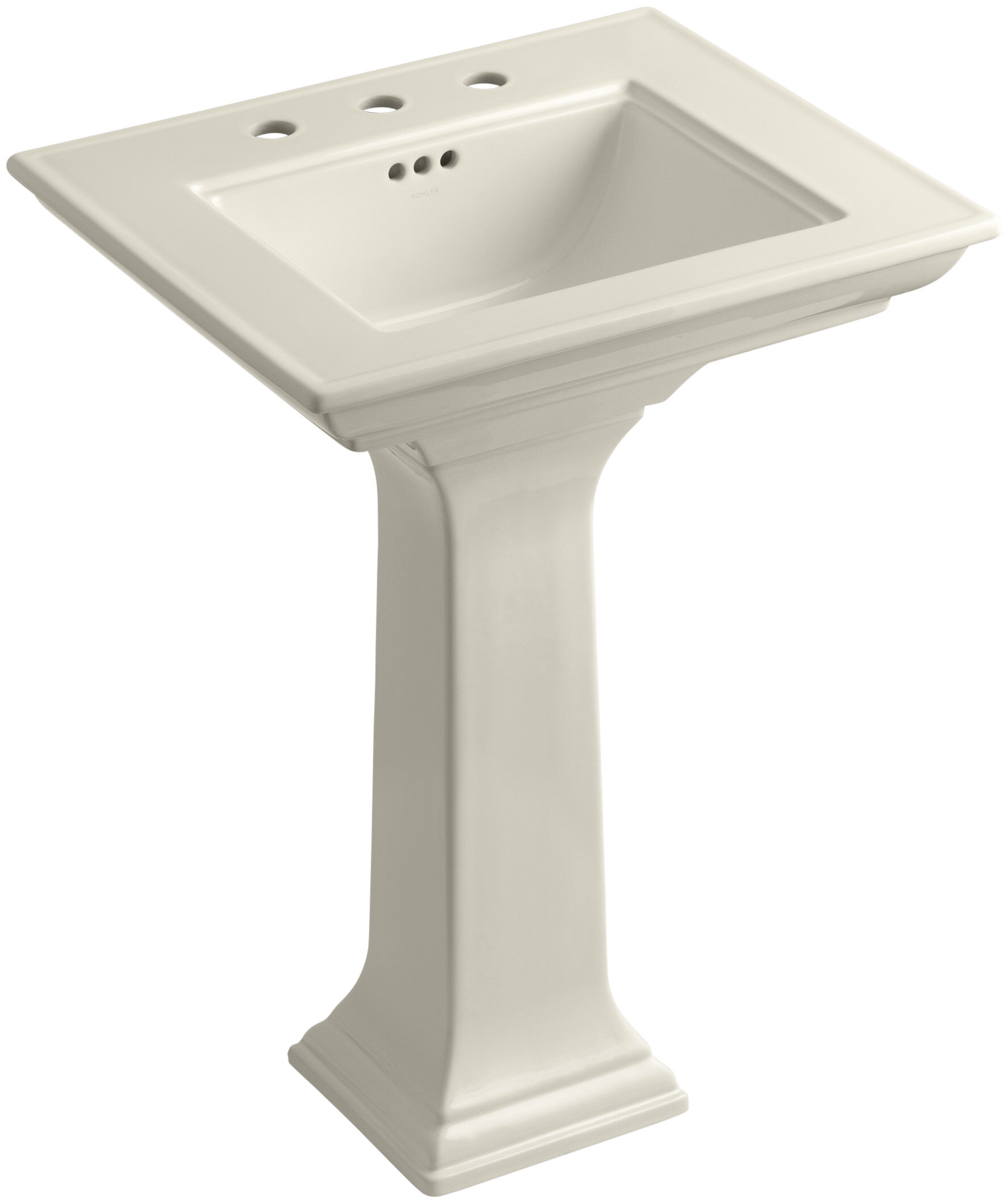 Memoirs Ceramic Pedestal Bathroom Sink