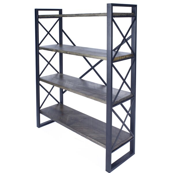 Irwinton 4 Shelf Etagere Bookcase By Foundry Select