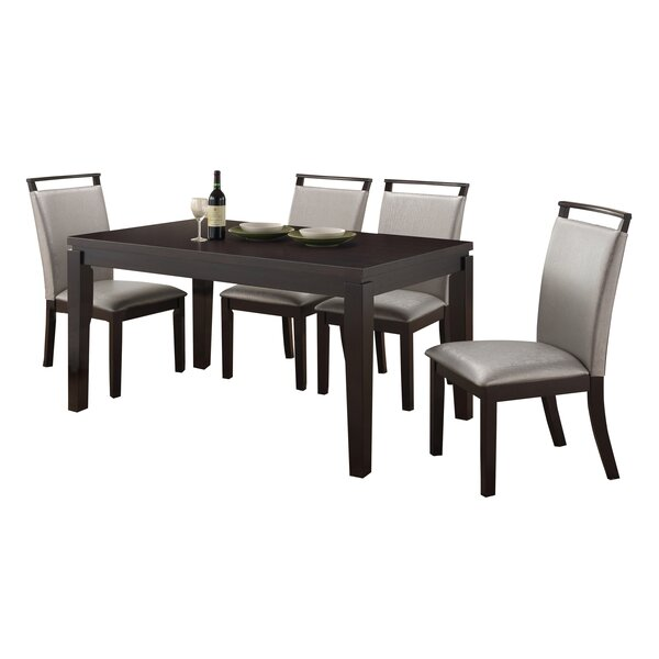 Wimbish 5 Piece Dining Set by Latitude Run